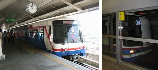 BTS と MRT