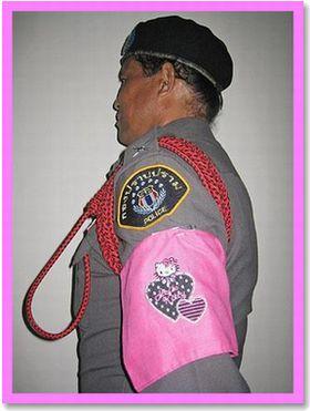 タイの警察官